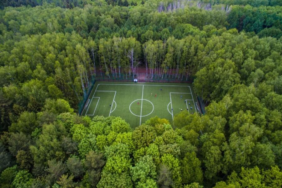 «Рай для футбола» – мексиканский журналист о поле в Мещерском парке